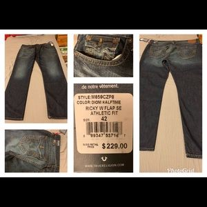 Men's True religion jeans NWT size 42
